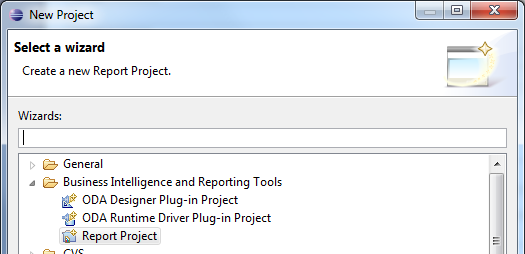 Creating a Report With Eclipse BIRT Report Designer
